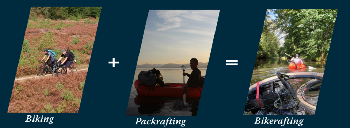 Biking Packrafting Bikerafting